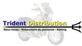 Magasin trident distribution ; r�paration vente de cycles, v�los, scooters, motos, tondeuses, d�brousailleuses, motobineuses, tracteurs, kart, karting